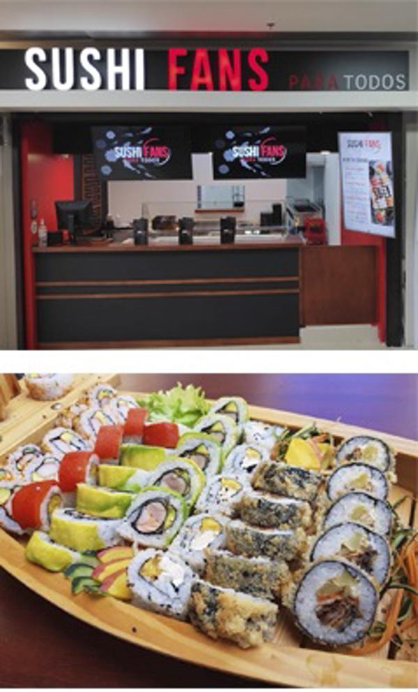 Franquicia Sushi Fans