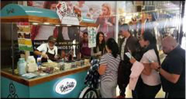 Franquicia Bacata Ice Cream Rolls