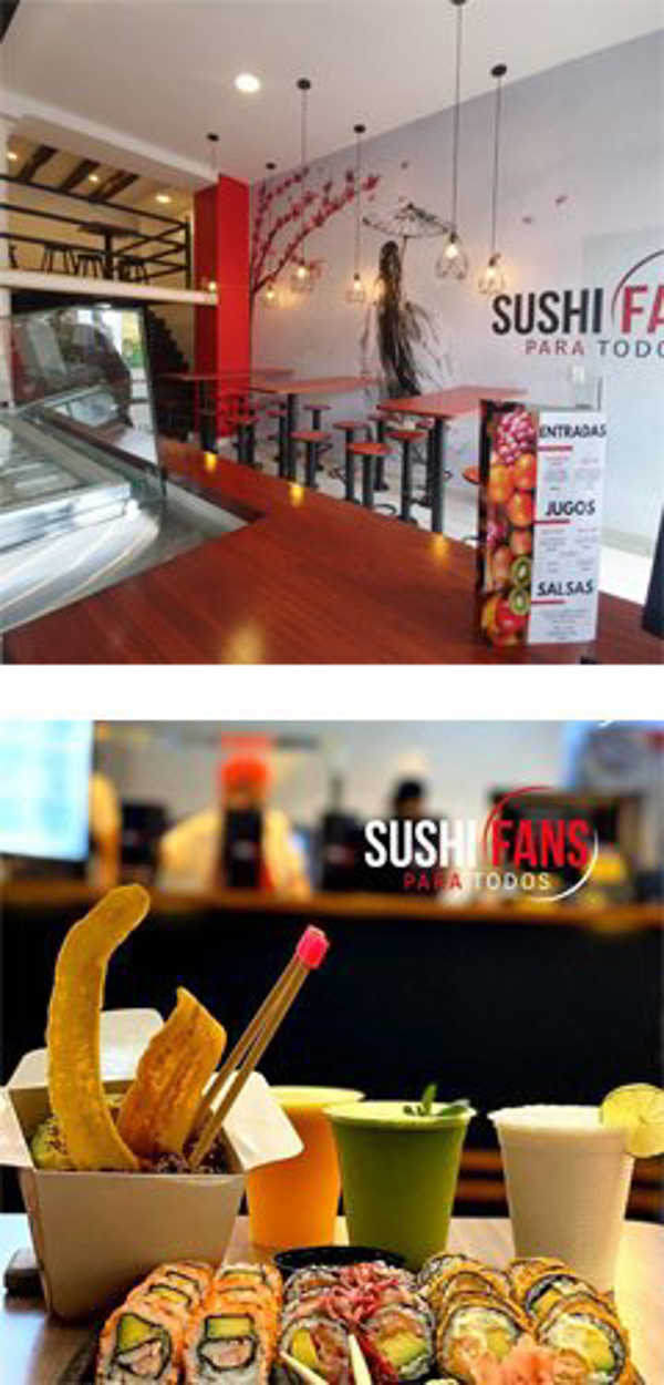 Franquicia Sushi Fans