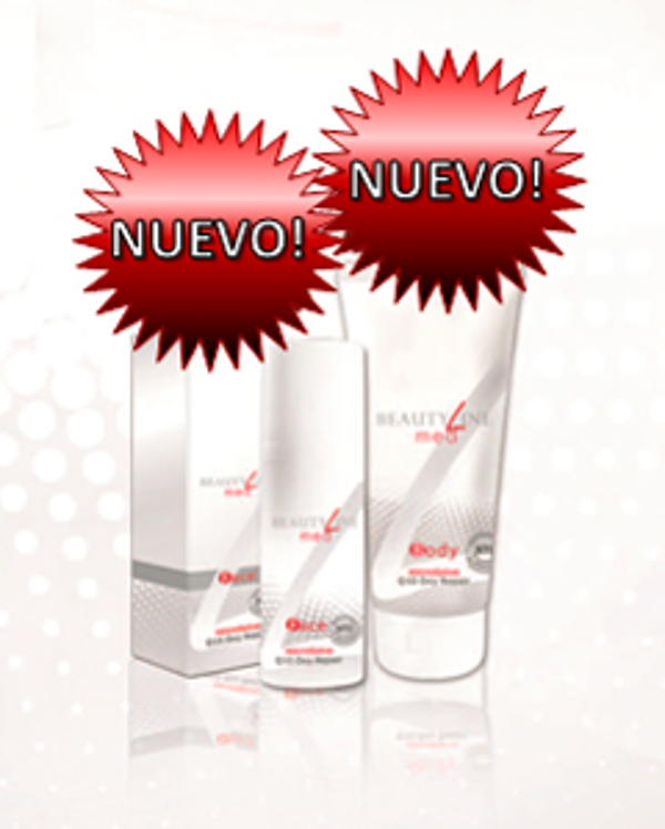 La franquicia Fitline y Beauty Line presenta BeautyLine med Q10 Oxy Repair Face & Body
