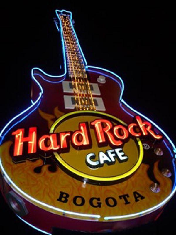 La franquicia Hard Rock Café de Bogotá la mejor del mundo