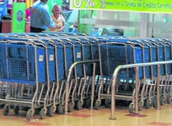 Ventas en grandes almacenes e hipermercados crecieron 9,2%